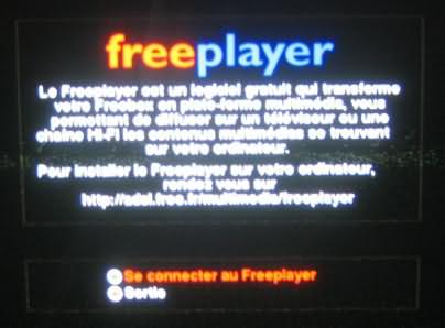 freeplayer freebox